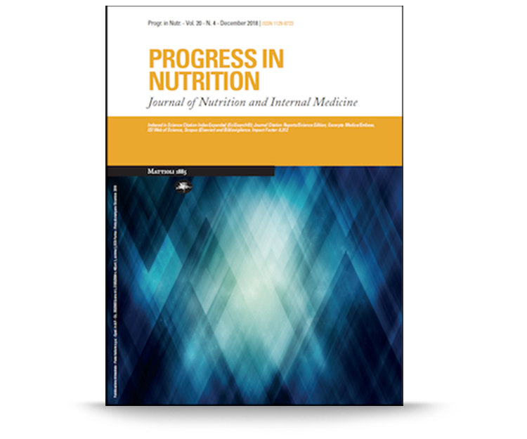 progress in nutrition